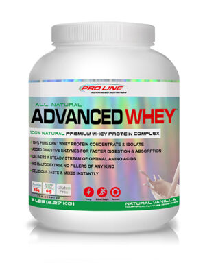 Advanced Whey 5lb Natural